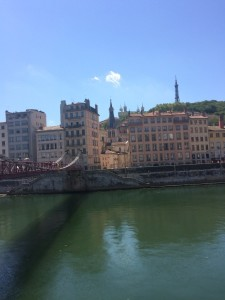 Depuis le quai de Saône