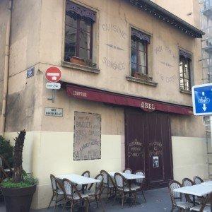 Comptoir d'Abel 2ème façade