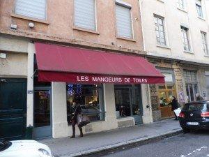 Rue d'Engien resto les mangeurs de toile